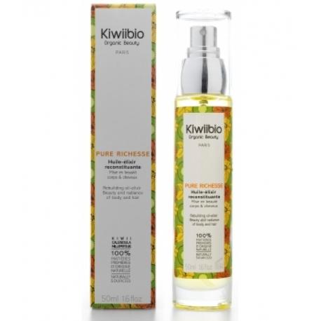 Pure Richesse huile élixir reconstituante 50 ml Kiwii Bio
