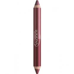 Rouge à lèvres duo crayon n° 3 Berry 2.98 g  - Logona