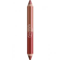 Rouge à lèvres duo crayon n° 5 Ruby Red 2.98 g - Logona