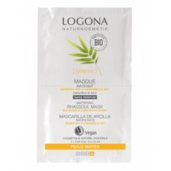 Masque matifiant bambou / hamamélis bio 2 x 7,5 ml Logona