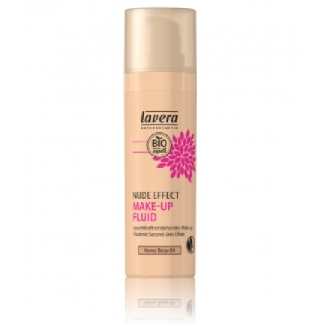 Nude Effect Make Up Fluid Honey beige 04 30 ml Lavera