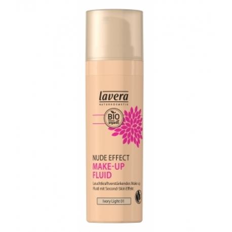 Nude Effect make up fluid Ivory light 01 30 ml Lavera