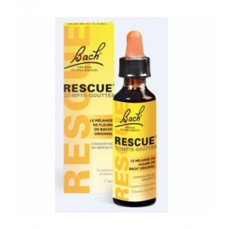 Rescue Compte gouttes 20 ml Bach Flowers Remedies