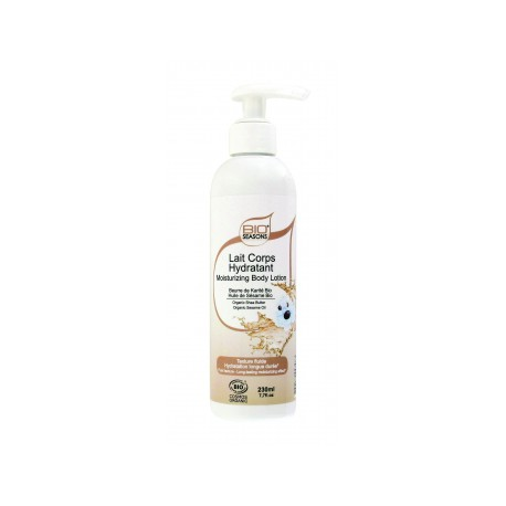 Lait corps hypoallergénique 230ml Bio Seasons