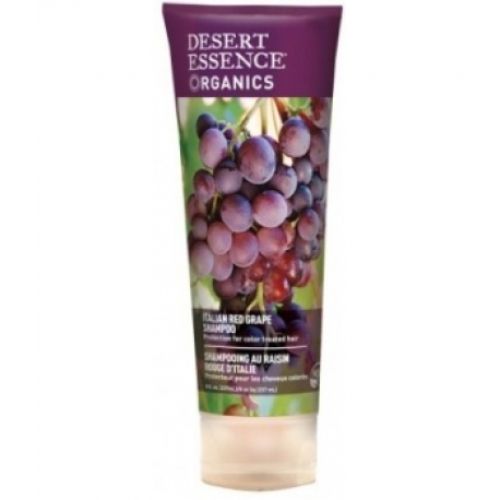 Shampooing raisin rouge d'Italie 237 ml Desert Essence