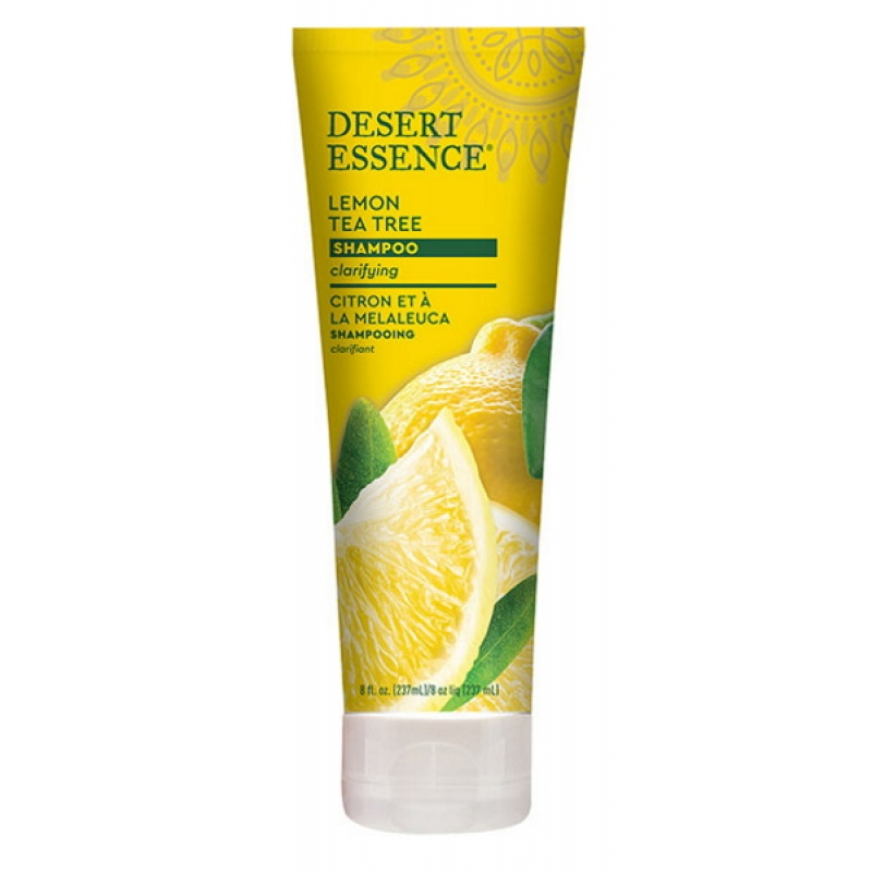 shampooing bio citron tea tree Desert Essence