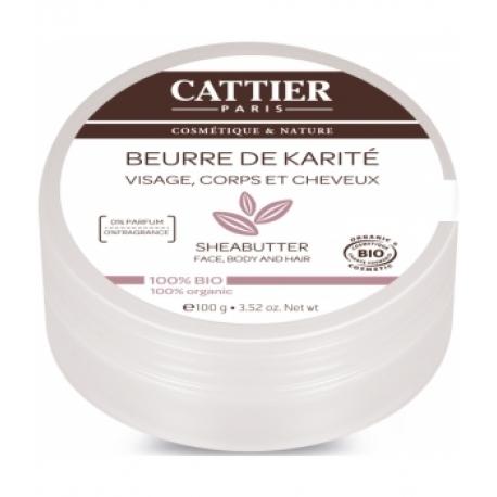 Beurre de karité bio 100 gr Cattier