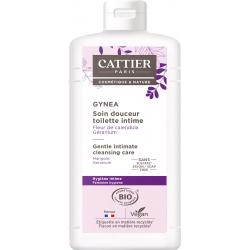 Soin douceur Gynéa Fleur de Calendula Géranium 500 ml Cattier