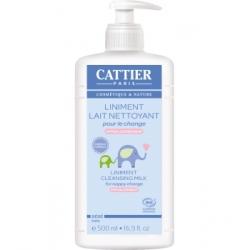 Liniment Lait nettoyant pour le change  500 ml Cattier