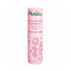 Stick lèvres hydratant Rose Sauvage 3,5g Melvita