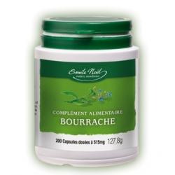 Huile de Bourrache Bio  200 capsules de 515 mg Emma Noel