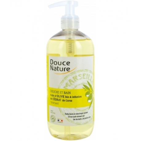 Douche et Bain cédrat de Corse 500 ml Douce Nature