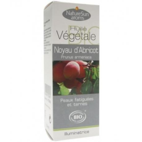 Huile de Noyau d'Abricot bio Flacon pompe 50 ml NatureSun'arôms  - cosmétique naturel