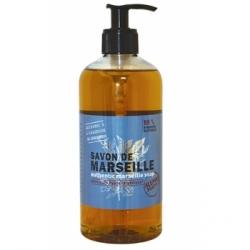 Savon de marseille liquide 500 ml Tadé - savon authentique de Marseille hypoallergénique