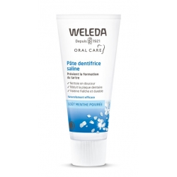 Pâte dentifrice saline anti tartre 75ml Weleda - dentifrice bio
