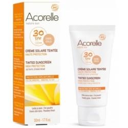 Crème solaire teintée SPF 30 50 ml Acorelle