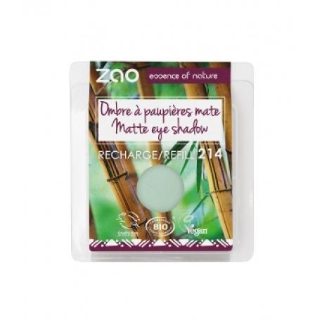 Recharge ombre à paupières 214 Vert d'Eau mat 3 g - Zao