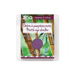Recharge ombre à paupières 215 Violet Pourpre mat 3 g - Zao