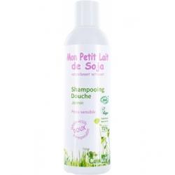 Gel douche corps et cheveux peaux sensibles Jasmin  250 ml Mon Petit Lait de  Soja
