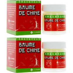 Baume de massage de Chine 2x30ml Monapharm - baume chinois
