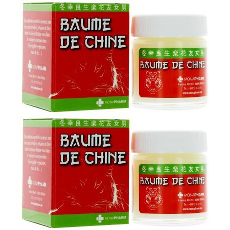 Baume de massage de Chine 2x30ml Monapharm - baume chinois