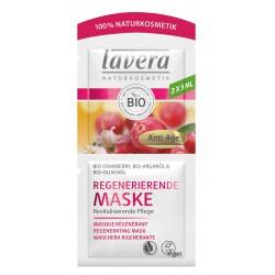 Masque anti rides Cranberry bio et Huile d'Argan bio 2x5ml Lavera