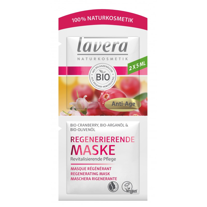 masque visage anti ride cranberry et argan 10 ml lavera. Black Bedroom Furniture Sets. Home Design Ideas