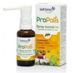 Spray buccal Propolis Echinacée Sauge 30 ml Ladrôme