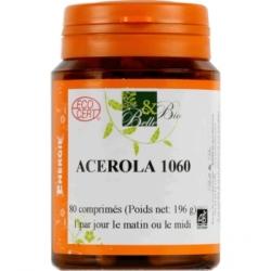 Acérola Bio 80 comprimés de 1000mg Belle et Bio vitamine C bio santé senior