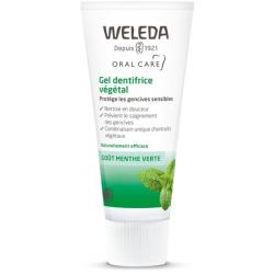 Gel dentifrice végétal contre la sensibilité gingivale 75 ml Weleda bio - dentifrice bio bio sante senior