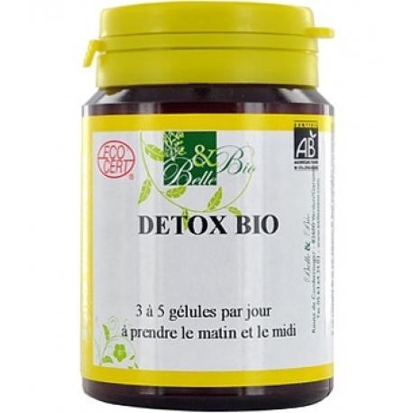 Detox Bio 60 gélules Belle et Bio Draineur bio sante senior