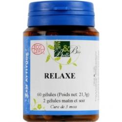 Relaxe bio 60 gélules Belle Bio supplément alimentaire bio santé senior