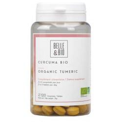 Curcuma piperine Bio 120 comprimés Belle et Bio