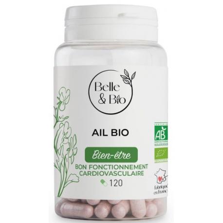 Ail bio 120 gélules - complément alimentaire bio santé senior