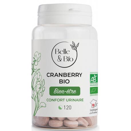 Belle et Bio Cranberry Bio 120 comprimés