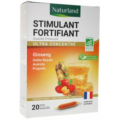 Ginseng , propolis, gelee royale, acerola, BIO ampoules biosantesenior.fr tonus vitalité