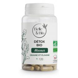Complexe Draineur Detox bio 120 gélules Belle et Bio Minceur Bio sante senior