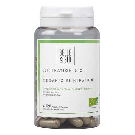 Elimination bio Boite de 120 gélules Belle et bio, dépuratif, detox, élimination