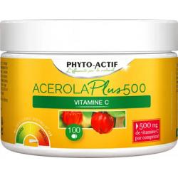 Acérola Plus 500 FAM 100 comprimés - Phyto-actif