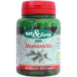 Hamamélis 80 gélules 220mg - Nat et Form