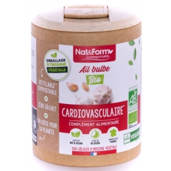 Nat  et  Form   Ail bulbe Bio 200 gélules - Nat et Form