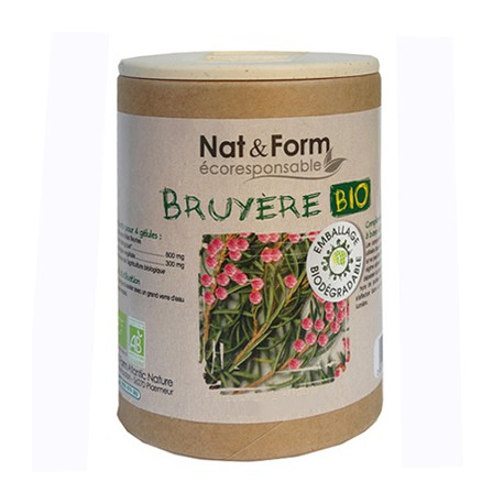 Bruyère Bio  90 gélules - Nat  et  Form