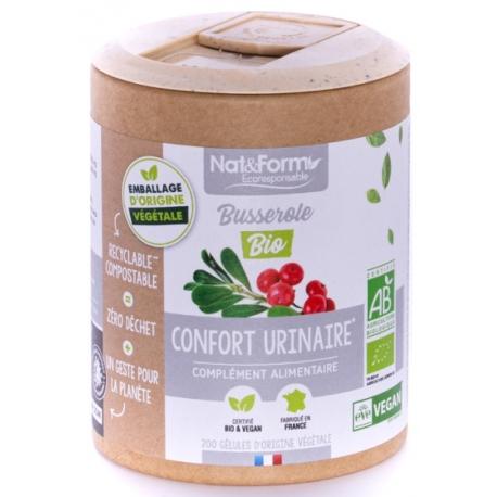 Busserole Bio 200 gélules - Nat et Form