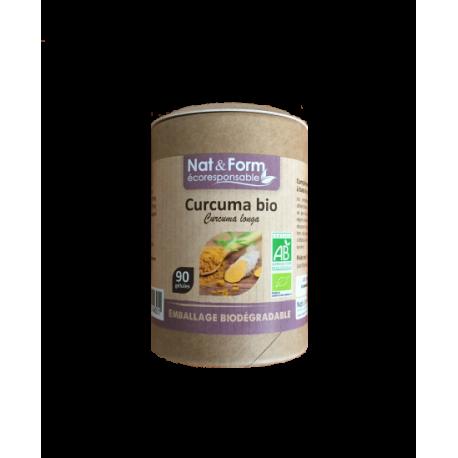 Curcuma Madras Bio 90 gélules - Nat et Form