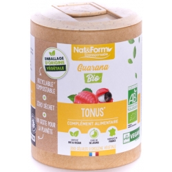 Guarana Bio 200 gélules - Nat et Form