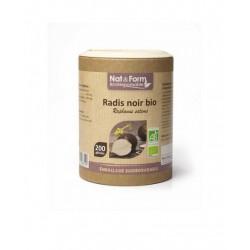 Radis Noir Bio 200 gélules - Nat et Form