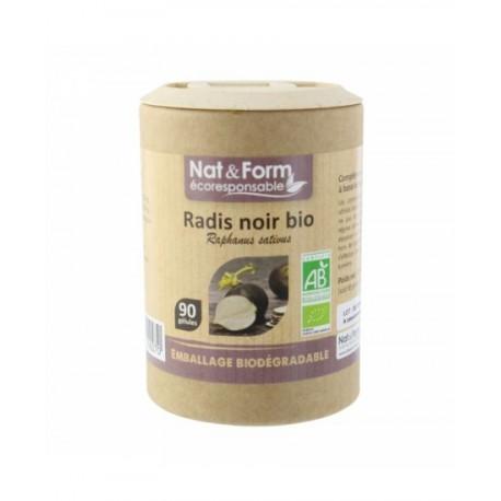 Radis Noir Bio 90 gélules - Nat et Form
