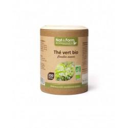 Thé Vert Bio 200 gélules - Nat et Form