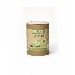 Thé Vert Bio 90 gelules - Nat et Form