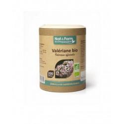 Valériane Bio 200 gélules - Nat et Form